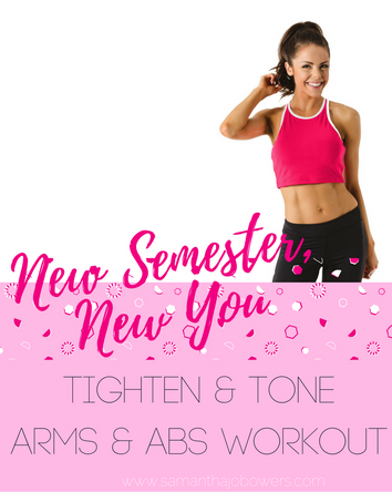 Tighten + Tone: Arms & Abs Workout