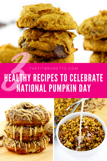 Three Healthy Dessert Recipes to Celebrate National Pumpkin Day