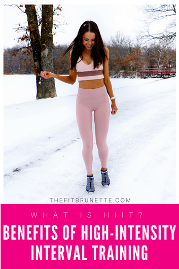 What is HIIT?   Benefits of High Intensity Interval Training & How to Include HIIT in Your Worko