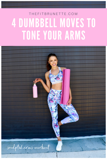 Sculpt and Tone Your Arms with These Four Dumbbell Moves