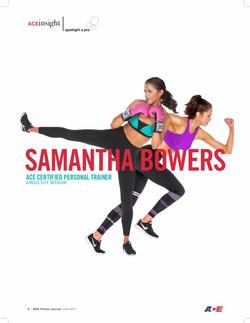 ACE FITNESS SAMANTHA BOWERS