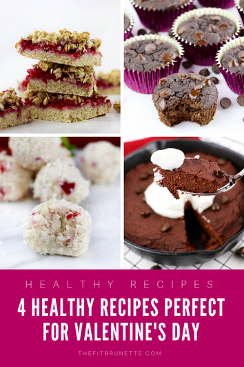 4 Healthy Dessert Recipes Perfect for Valentine's Day
