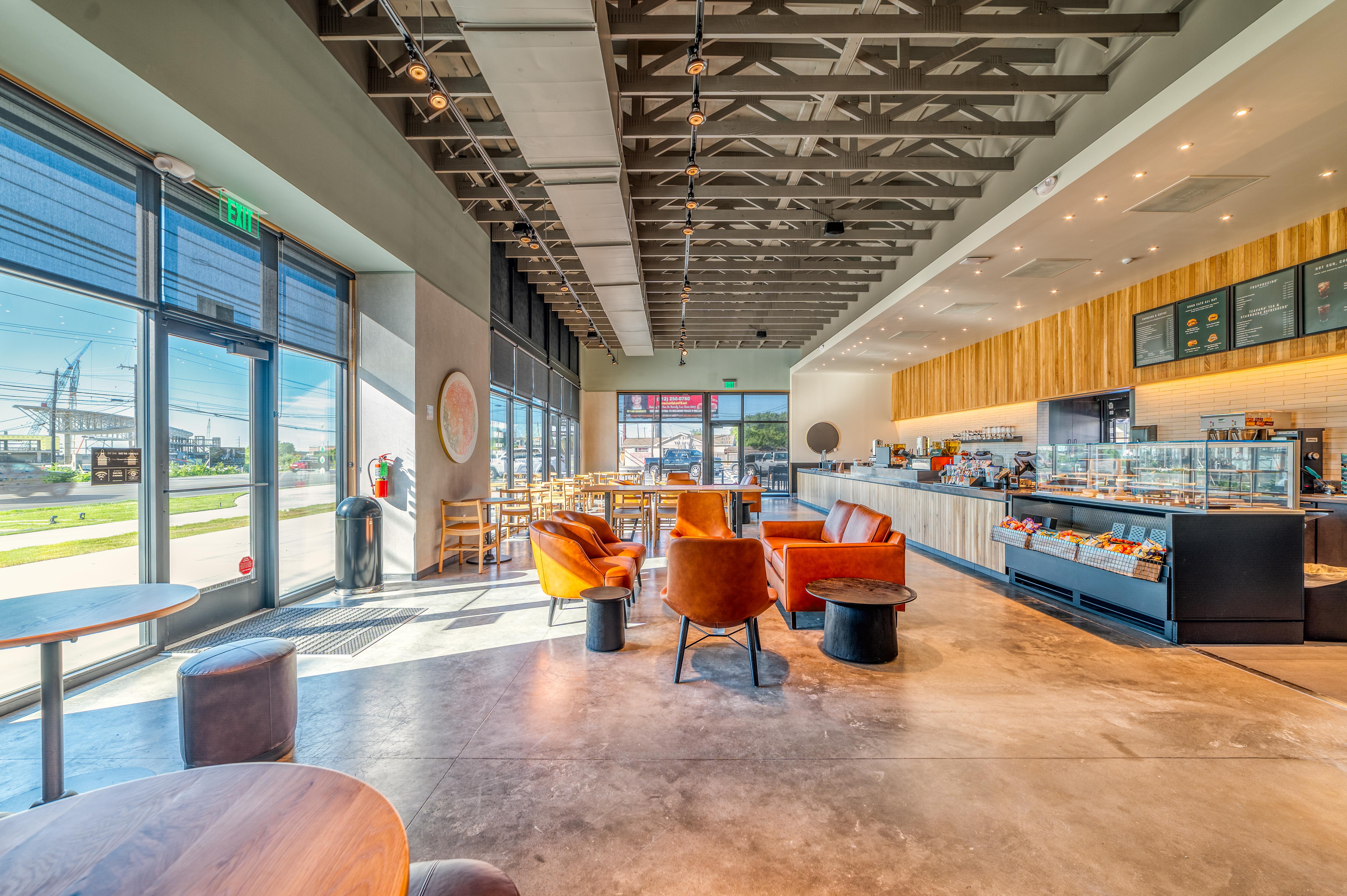 Starbuck's Interior