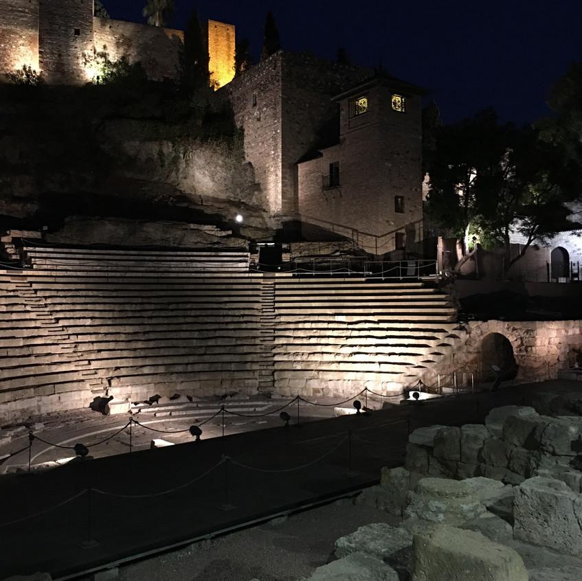Roma theatre - Malaga