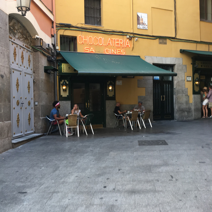 San Gines for some Churros