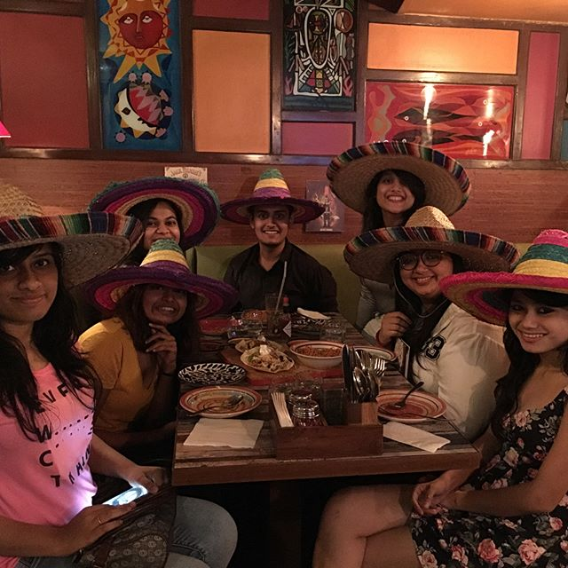 The one with Sombreros