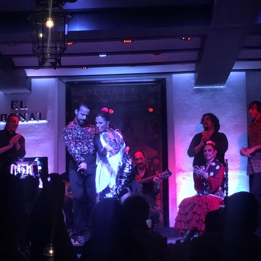 Flamenco show at El Arenal