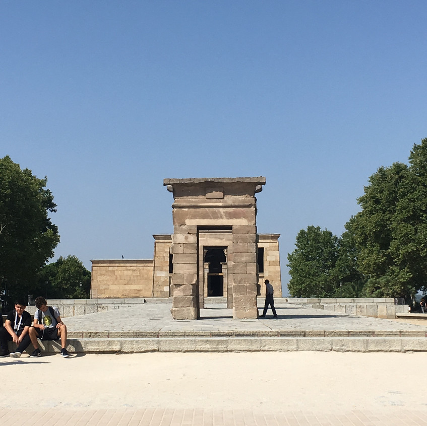 Temple of Debod - An Egyptian Temple