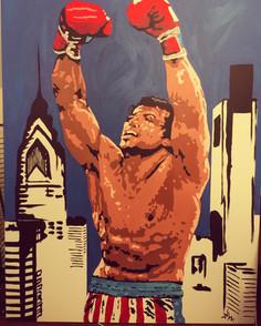 """Rocky 36""""x48"""" ($350)"""