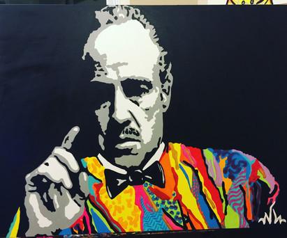 "Godfather Coogi 30""x40"" ($425)"