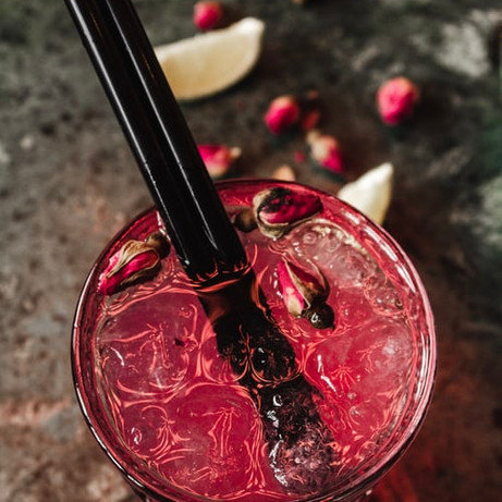 Rose Mocktail recipe by GREEN Plant-Based Foods