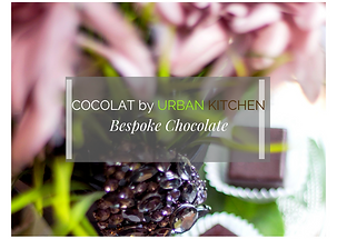 Bespoke Chocolate by URBAN KITCHEN Foods