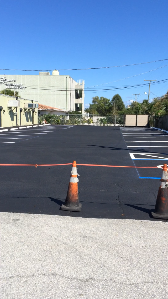 Parking Lot Resurface