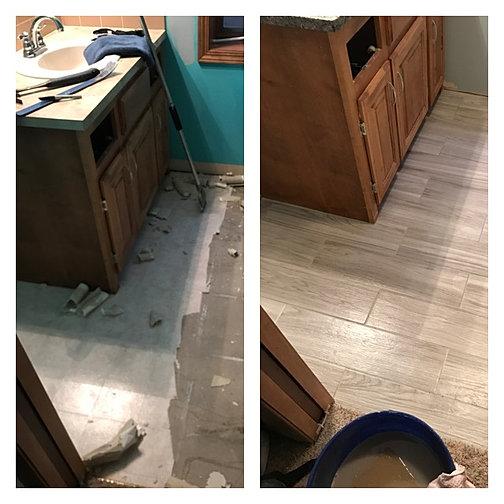 bathroom remodel   fuqua home remodeling & repair