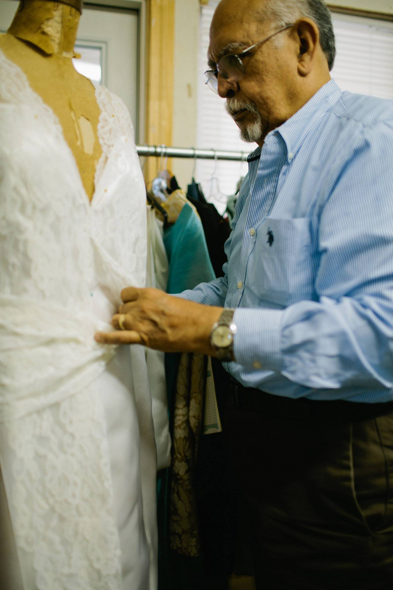 Restoration Wedding Gown