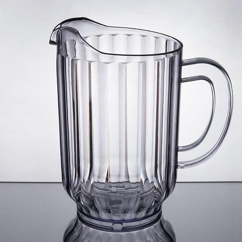 60 oz. Clear Plastic Beverage Pitcher