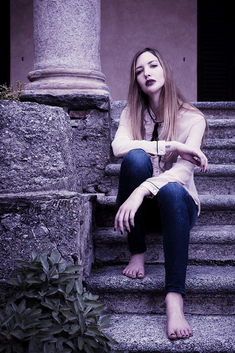 Model Ilaria Sanvittore