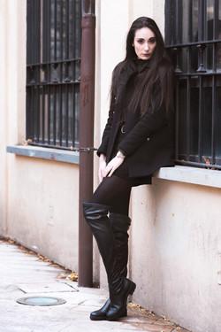 model Camilla Frigerio