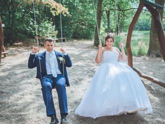 Tropická svatba v Mostě