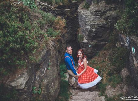Svatba ve skalách