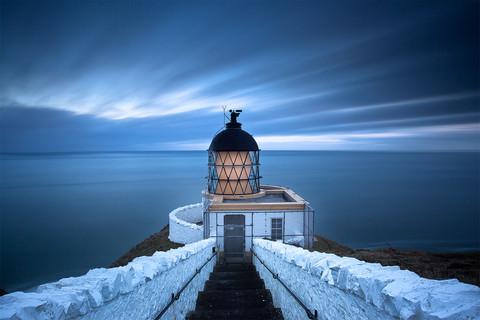 St. Abbs head lighthouse