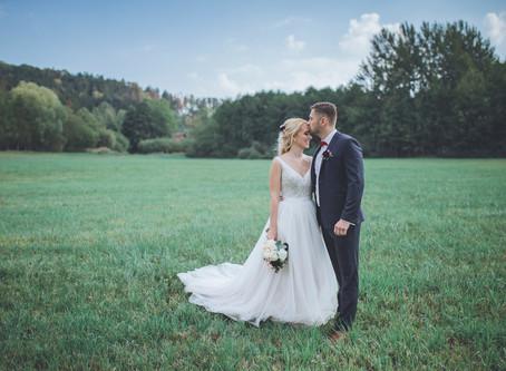Svatba v srdci Českého Švýcarska