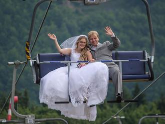 Bouřka na svatbě?  Jasně, a jaká to byla krása!
