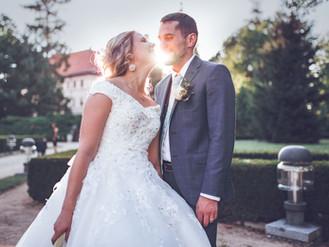 Pohádková svatba na zámku