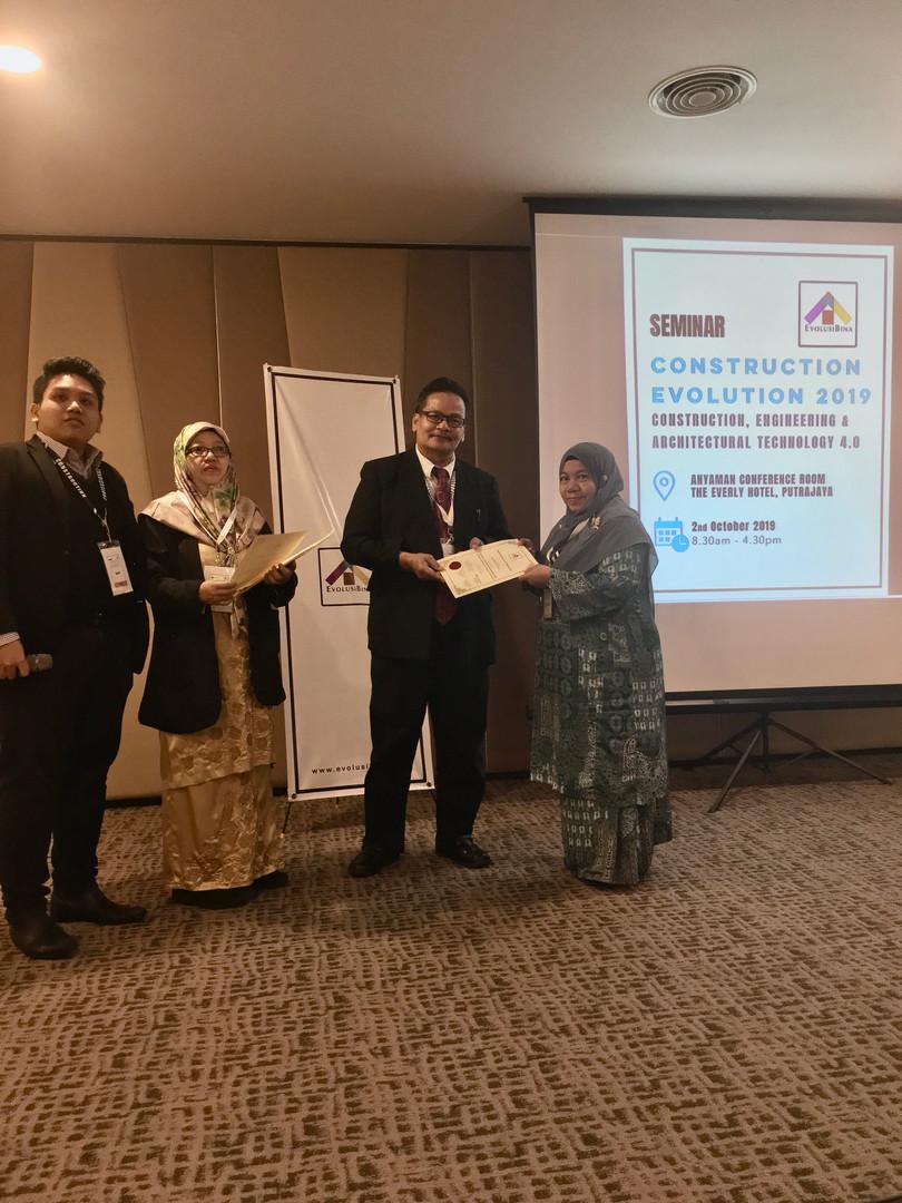 109. Ir Hjh Atikah Abdul Hamid JKR Malaysia