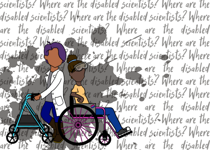 Where are all the Disabled Scientists?