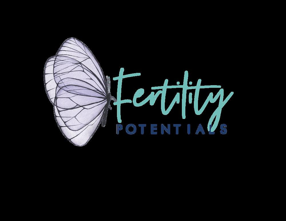 Fertility Potentials butterfly logo
