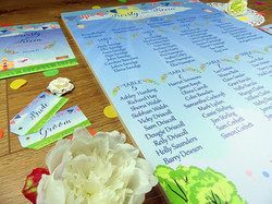 Kirsty & Kevin's stationery