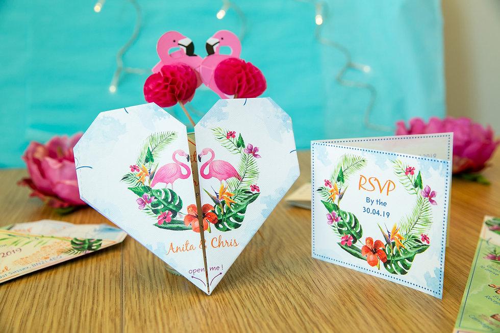 Heart Origami, Flamingo Heart, Cat Creat