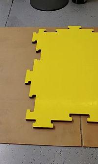 Interlocking Flooring Installation