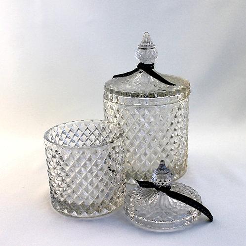 Bonbonniere Glas Raute