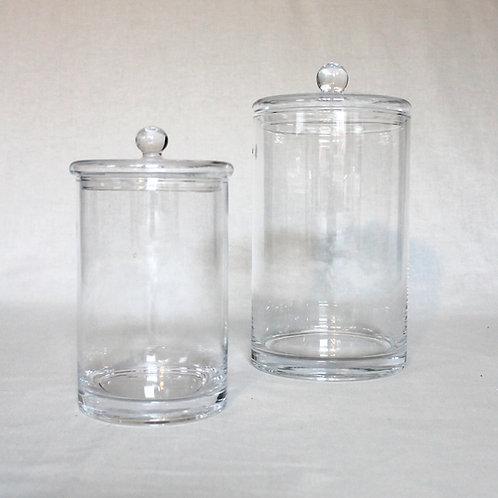 Glasdose mit Deckel