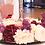 Thumbnail: Blumenkranz für Kerzenständer