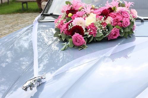 Blumen fürs Auto mittel