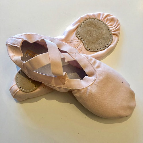 Freed Stretch Canvas Split Sole Ballet Shoe
