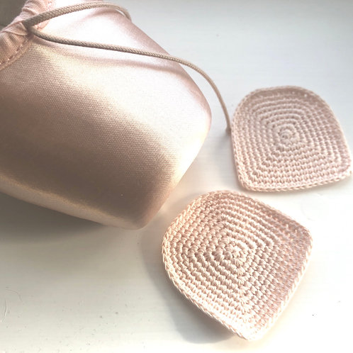 Chacott Cotton Crochet Toe Cap