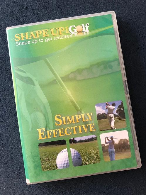 Shape Up For Golf Pilates DVD