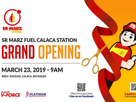SR-Marz Fuel Calaca Station - GRAND OPENING