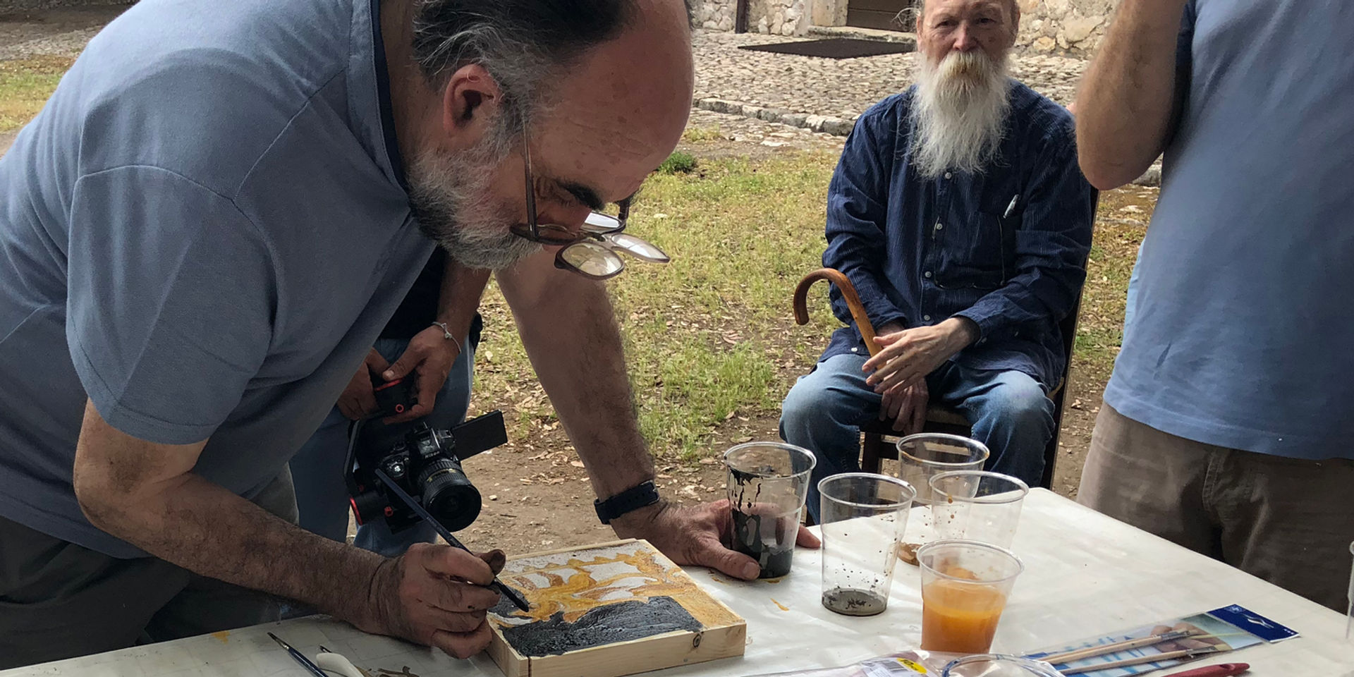 Ancient Artisans in Training