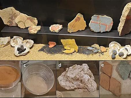 Ancient construction materials