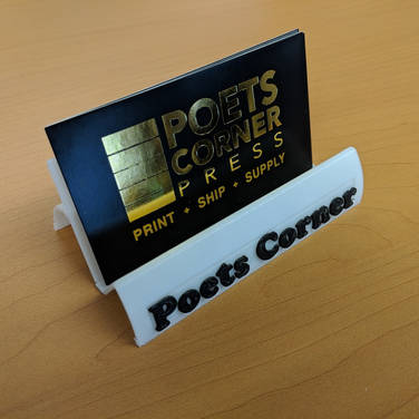 Tabletop Business Card Holder