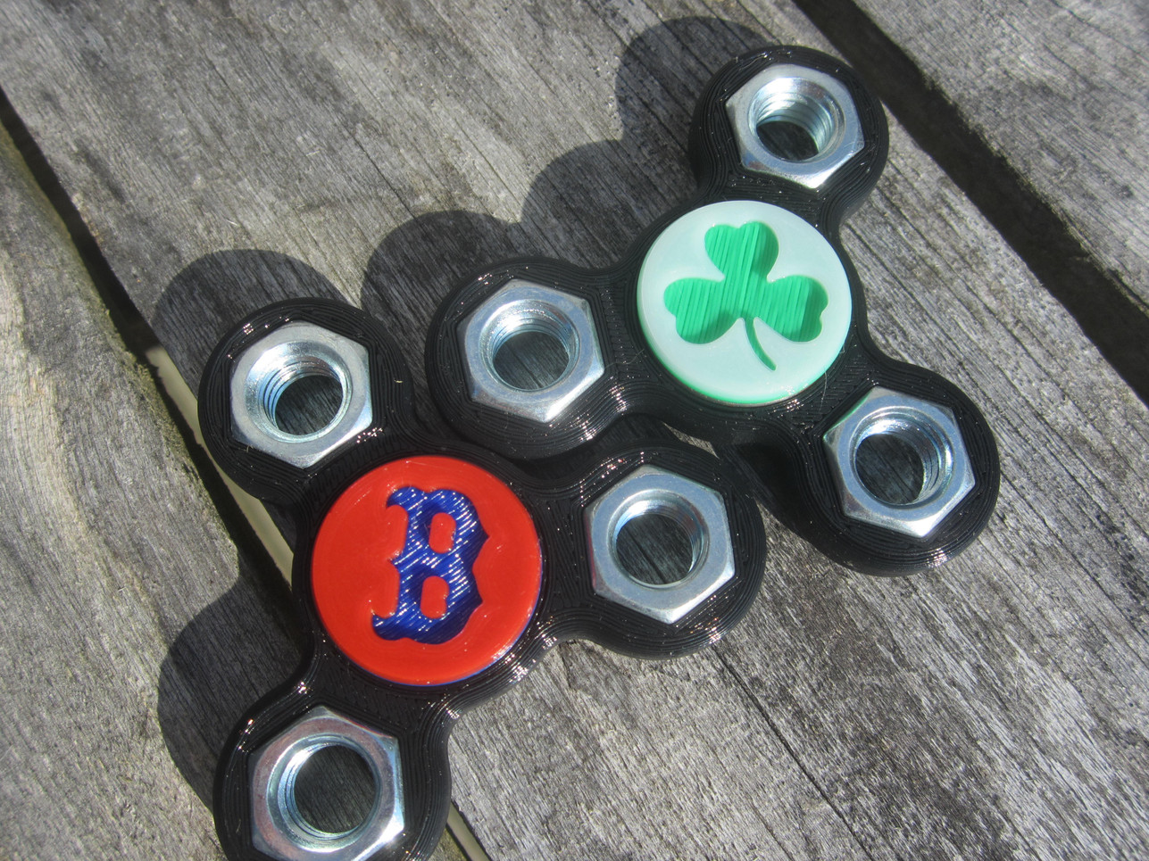 BoSox and Celtics Spinners