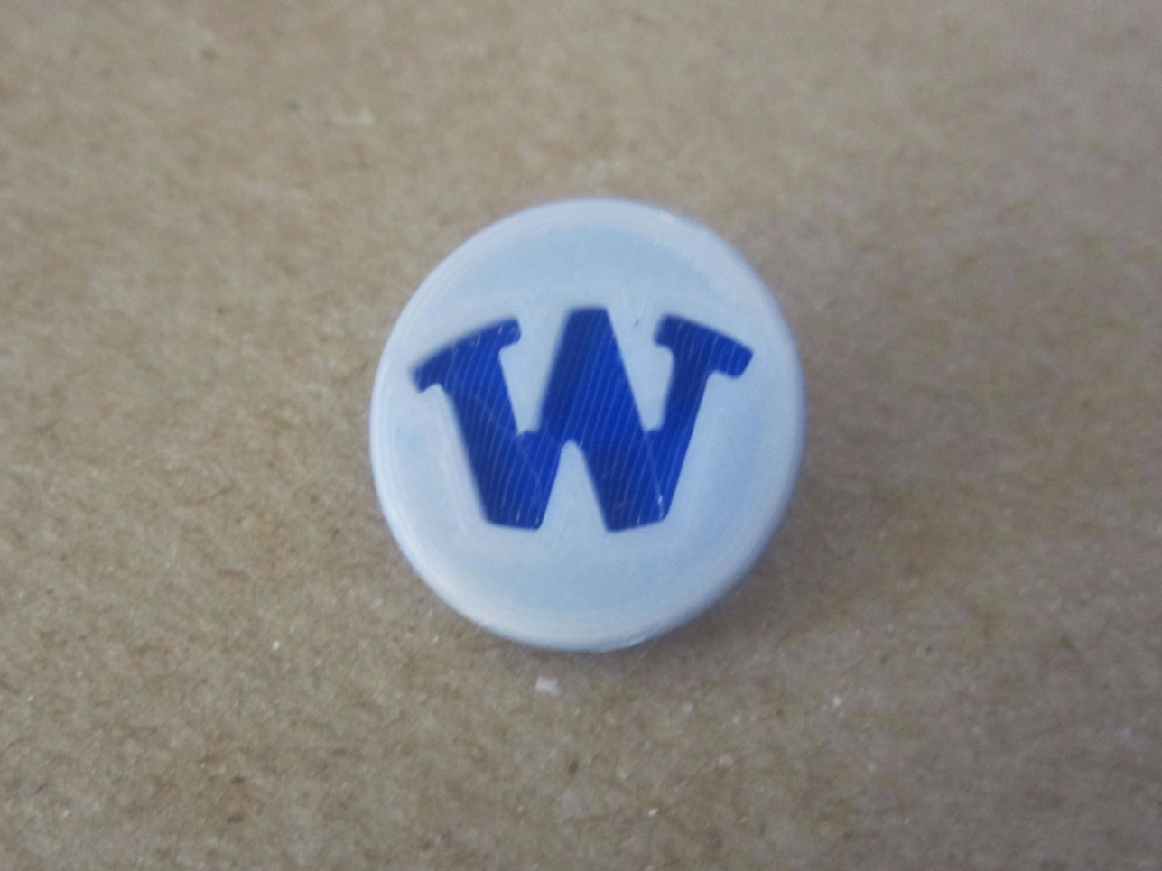 Whaler W Golf Ball Marker