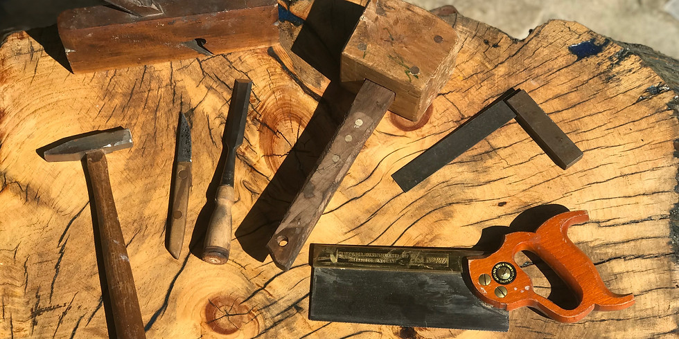 Hand Tool Woodworking, Ages 16+, $15, Instructor William Fields