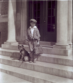 WBC, Young Boy with Dog