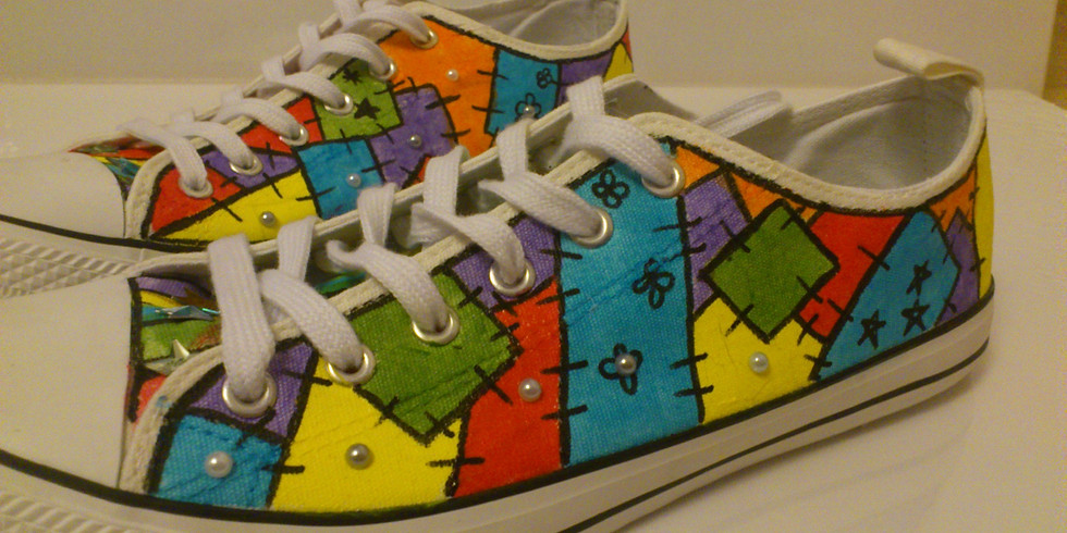 Intro to Sneaker Customization for Adults, Ages 18+, $15, Instructor Jessica Dempsey  (1)